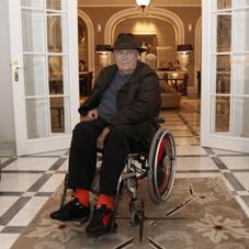 برناردو برتولوچی، مقابل هتل جشنواره